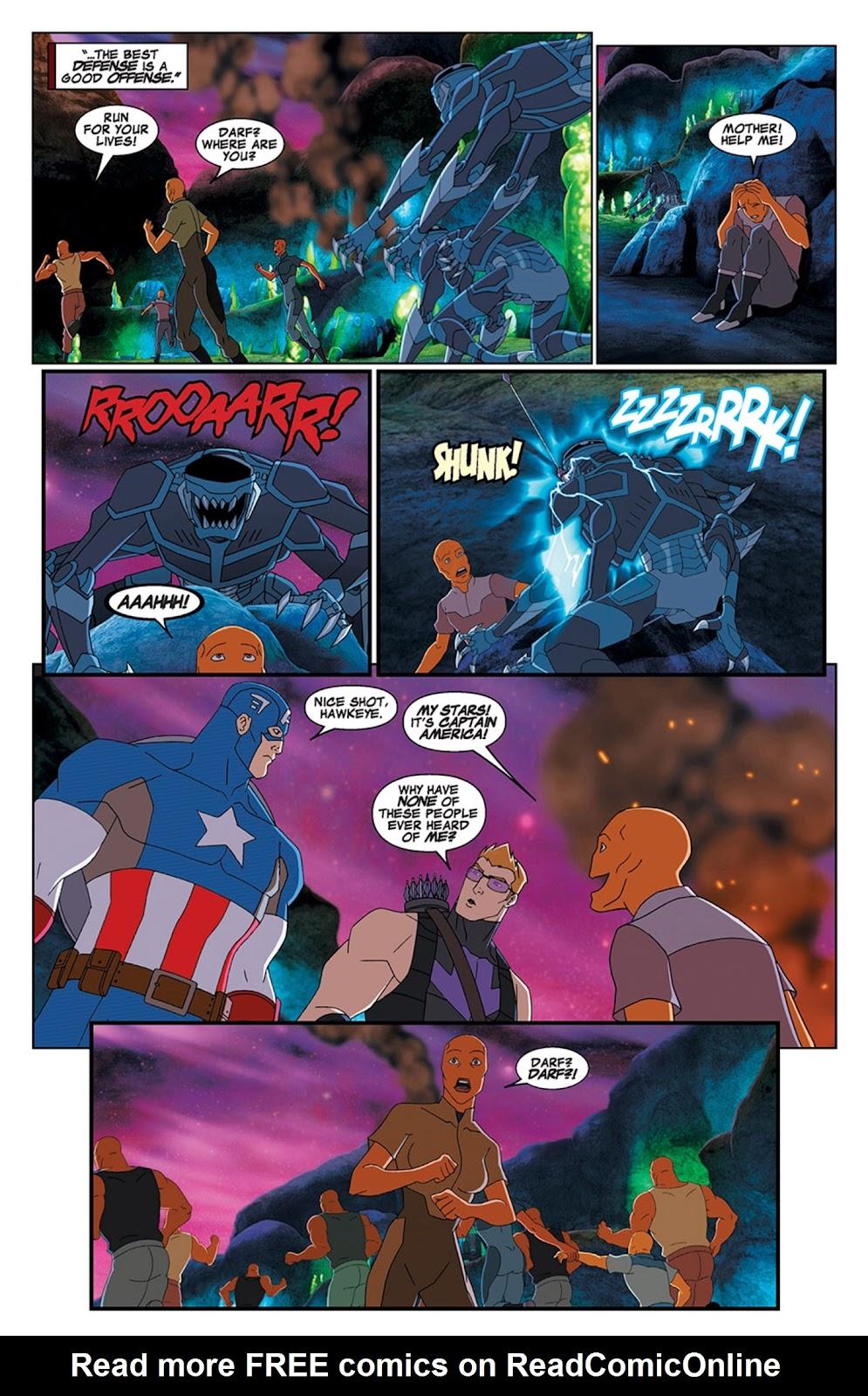 Read online Marvel Universe Avengers Assemble Season 2 comic -  Issue #15 - 6