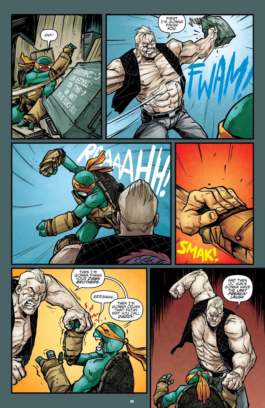 Read online Teenage Mutant Ninja Turtles: The IDW Collection comic -  Issue # TPB 7 (Part 1) - 87