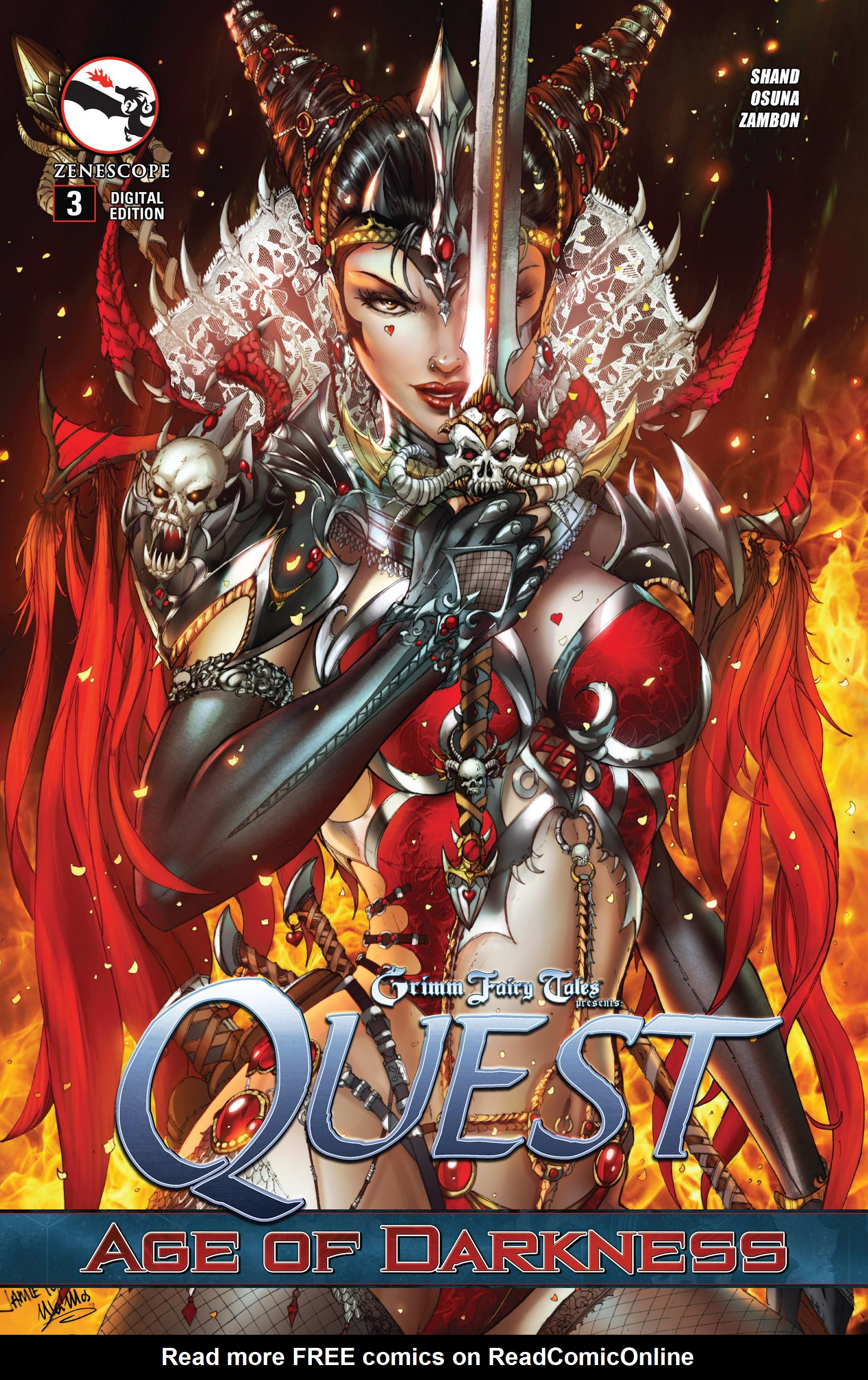 Grimm Fairy Tales presents Quest 3 Page 1