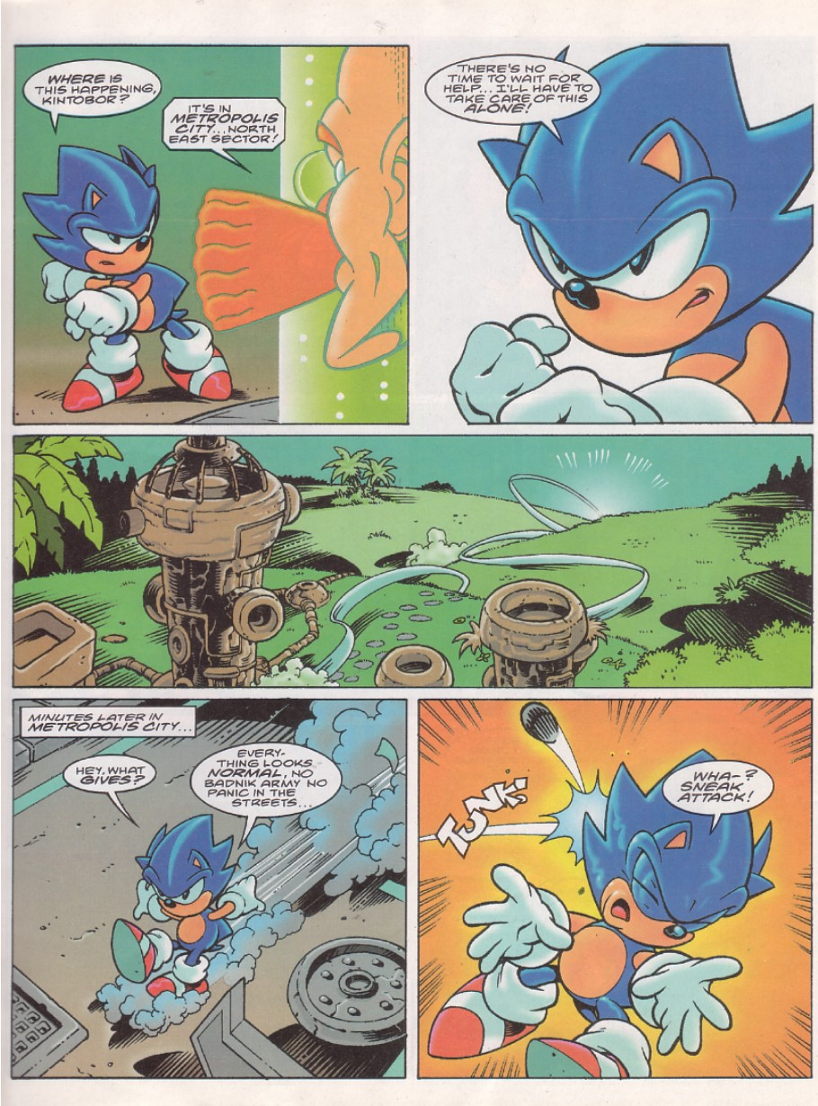 Read online Sonic the Comic comic -  Issue #143 - 3