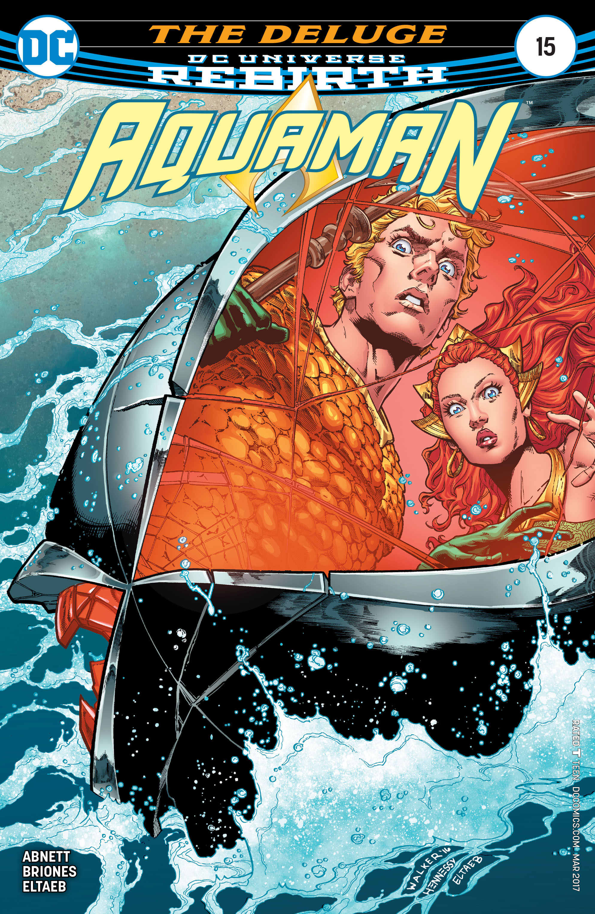 Read online Aquaman (2016) comic -  Issue #15 - 1