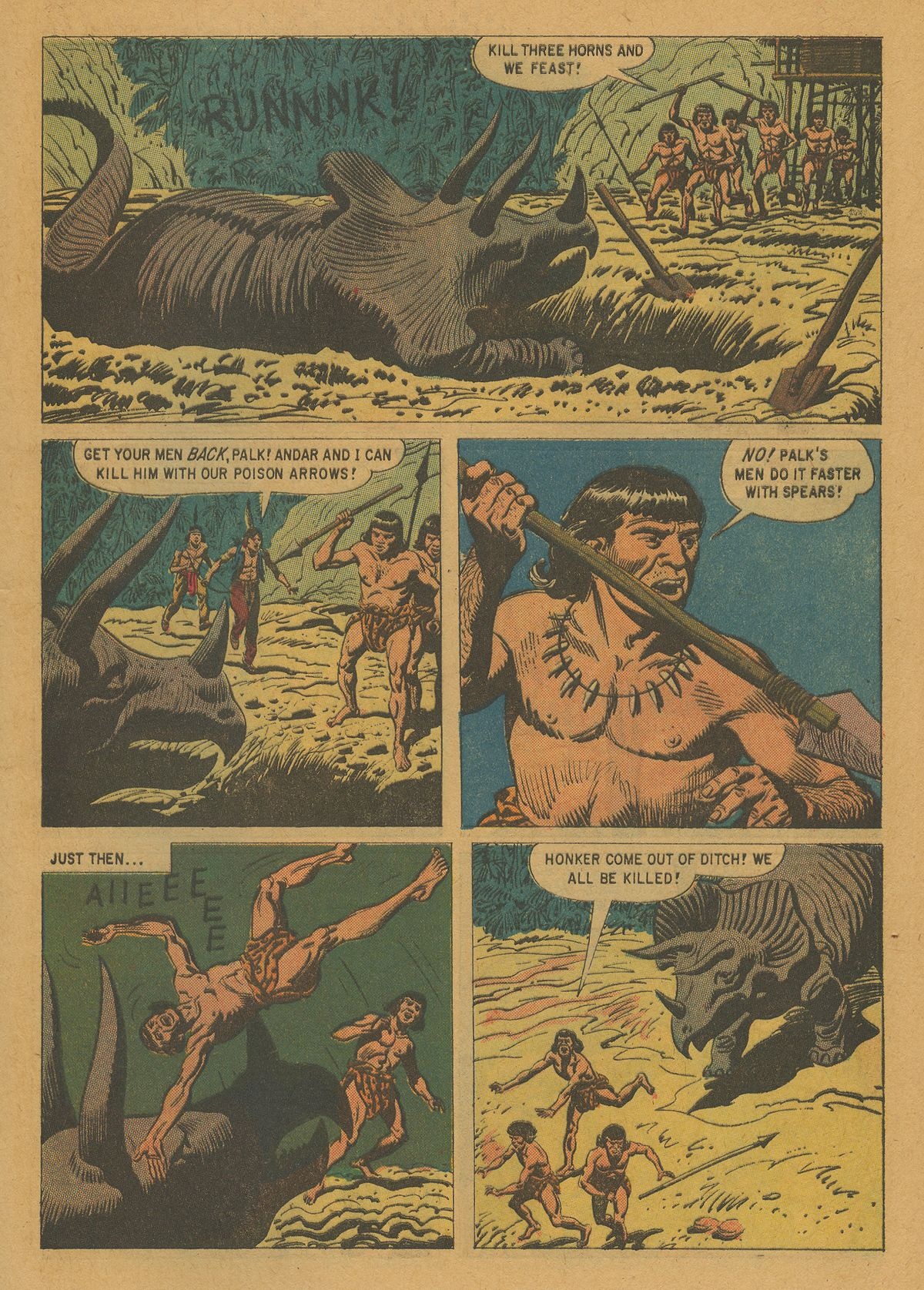 Read online Turok, Son of Stone comic -  Issue #21 - 9