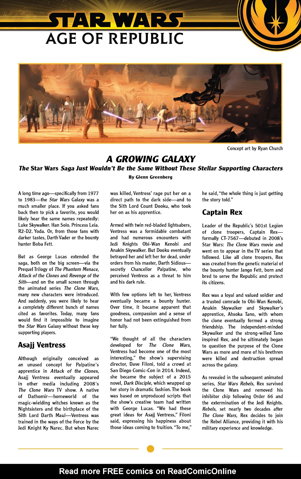 Read online Star Wars: Age of Republic Special comic -  Issue # Full - 33