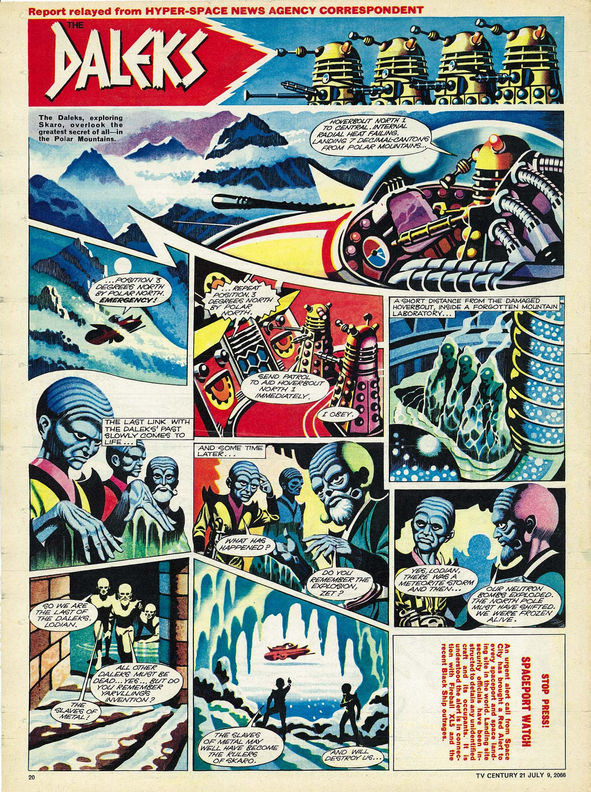 Read online TV Century 21 (TV 21) comic -  Issue #77 - 19
