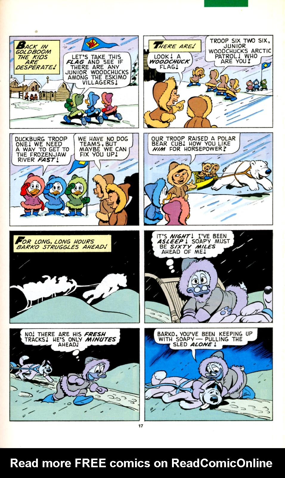 Read online Uncle Scrooge (1953) comic -  Issue #278 - 18