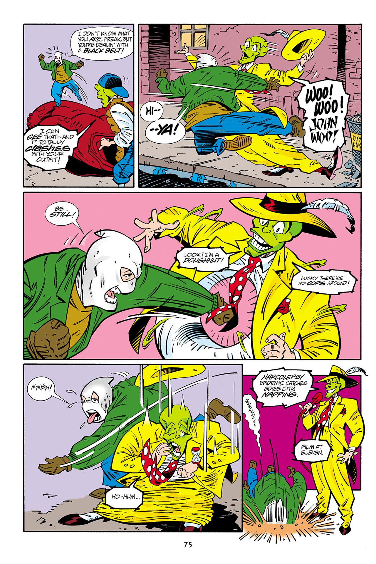 Read online Adventures Of The Mask Omnibus comic -  Issue #Adventures Of The Mask Omnibus Full - 75