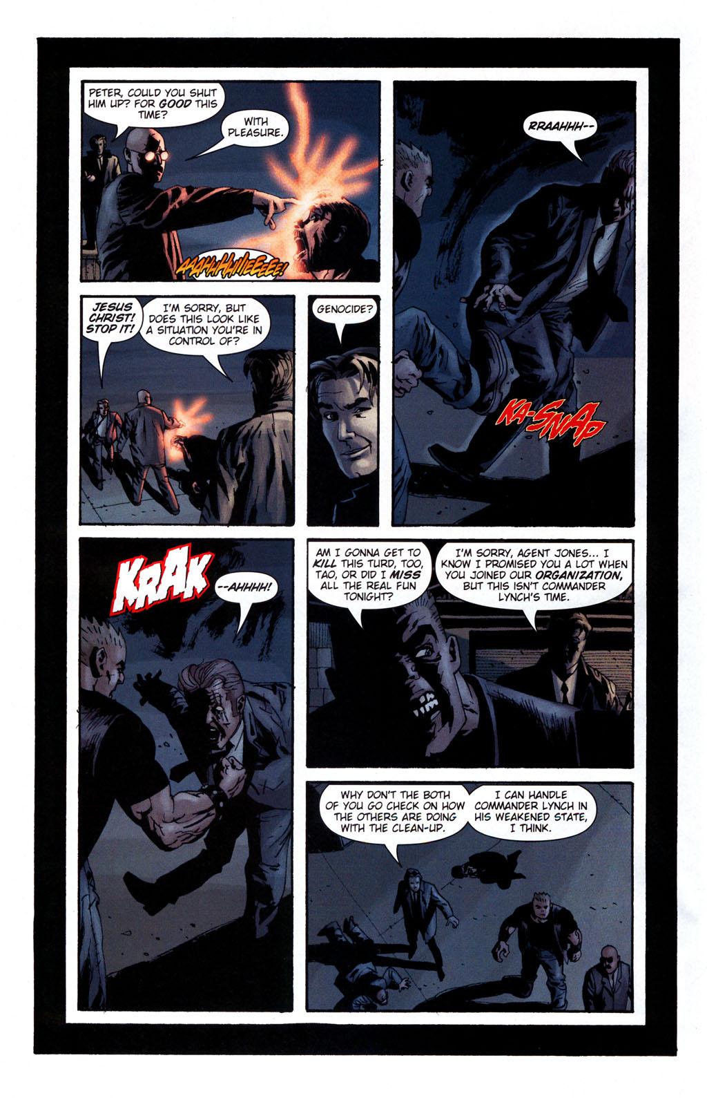 Read online Sleeper: Season Two comic -  Issue #5 - 19