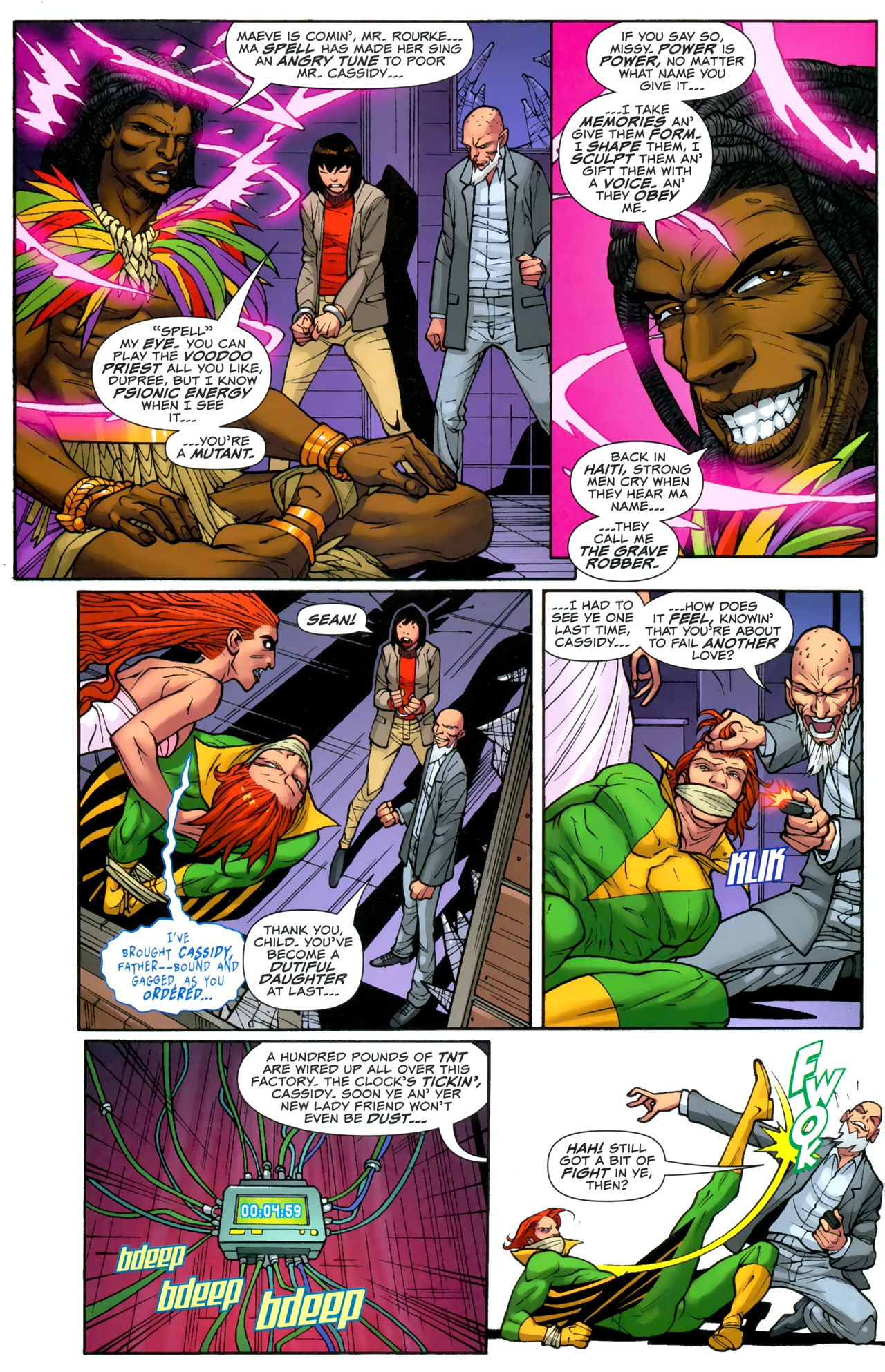 Read online Uncanny X-Men: First Class comic -  Issue #3 - 19