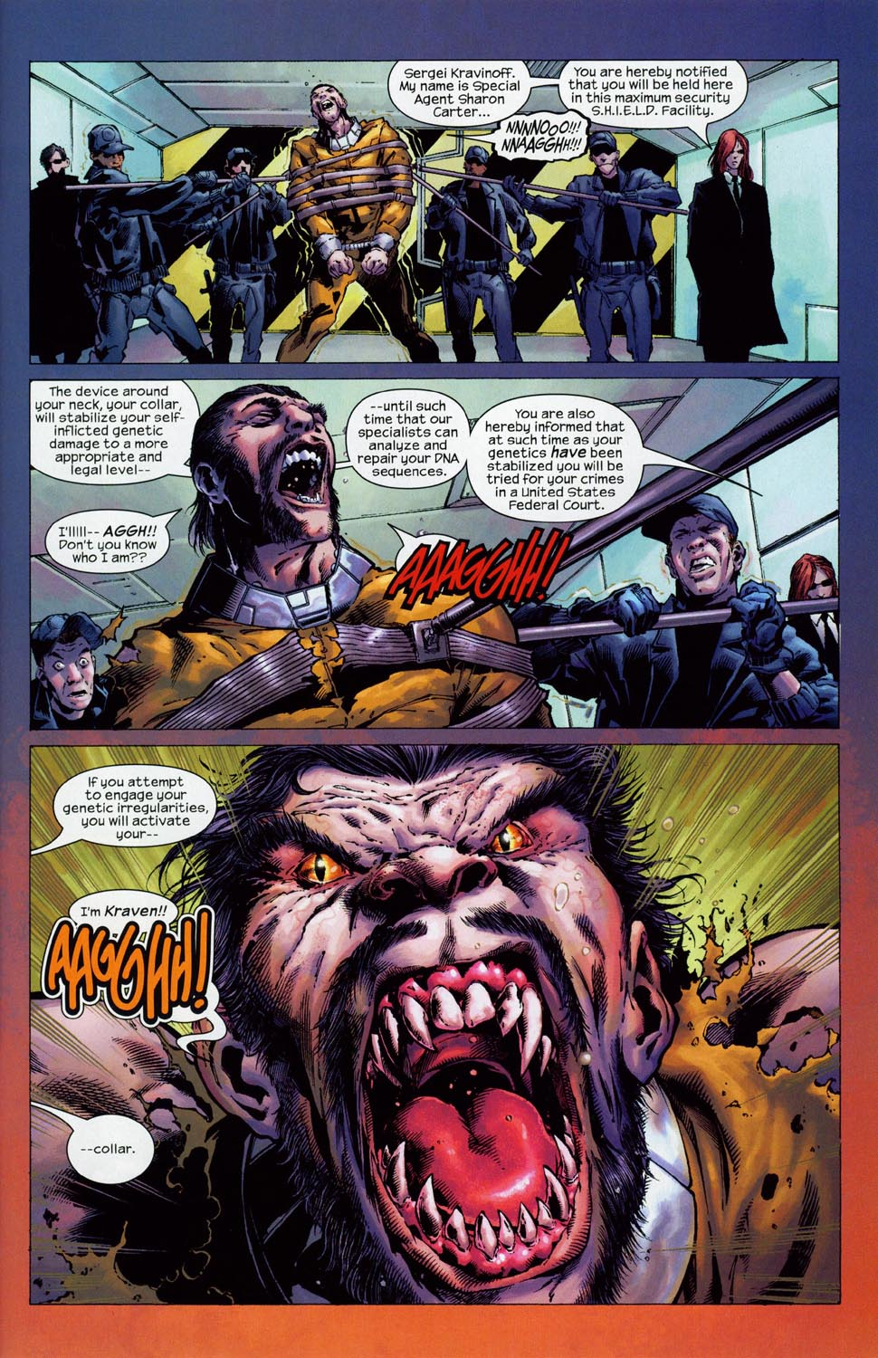 Read online Ultimate Six comic -  Issue #1 - 22
