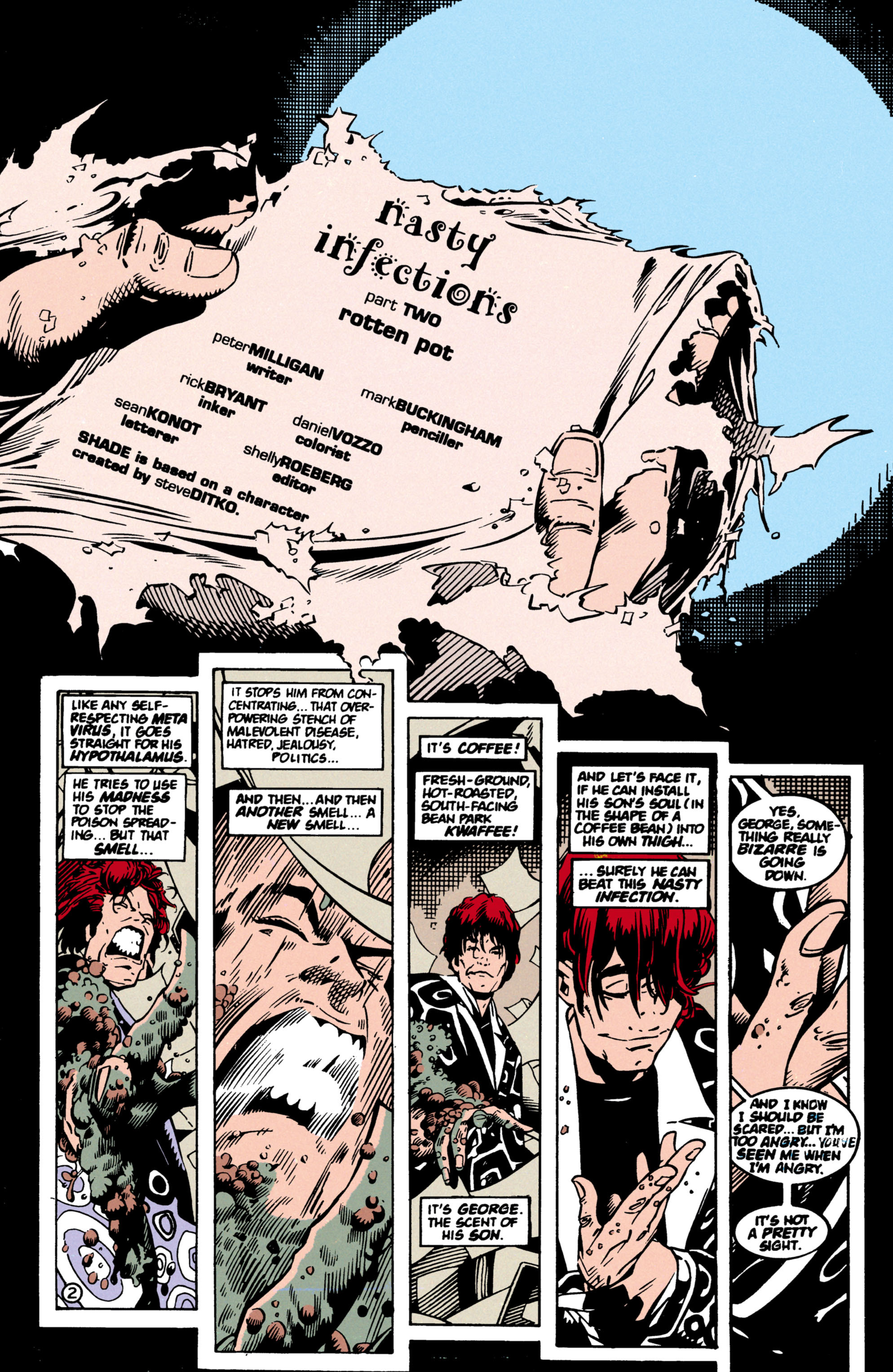 Read online Shade, the Changing Man comic -  Issue #60 - 3