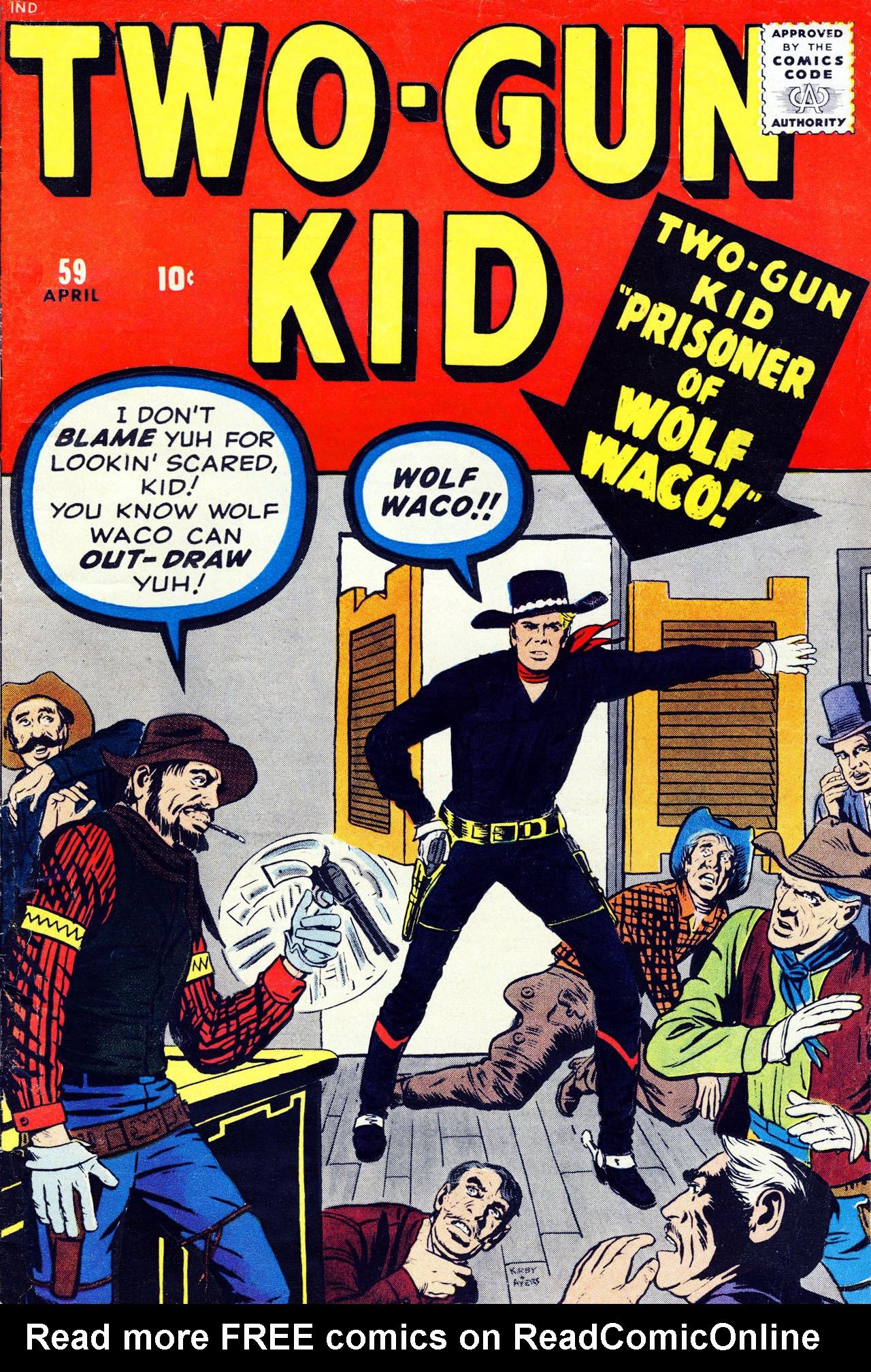 Read online Two-Gun Kid comic -  Issue #59 - 1
