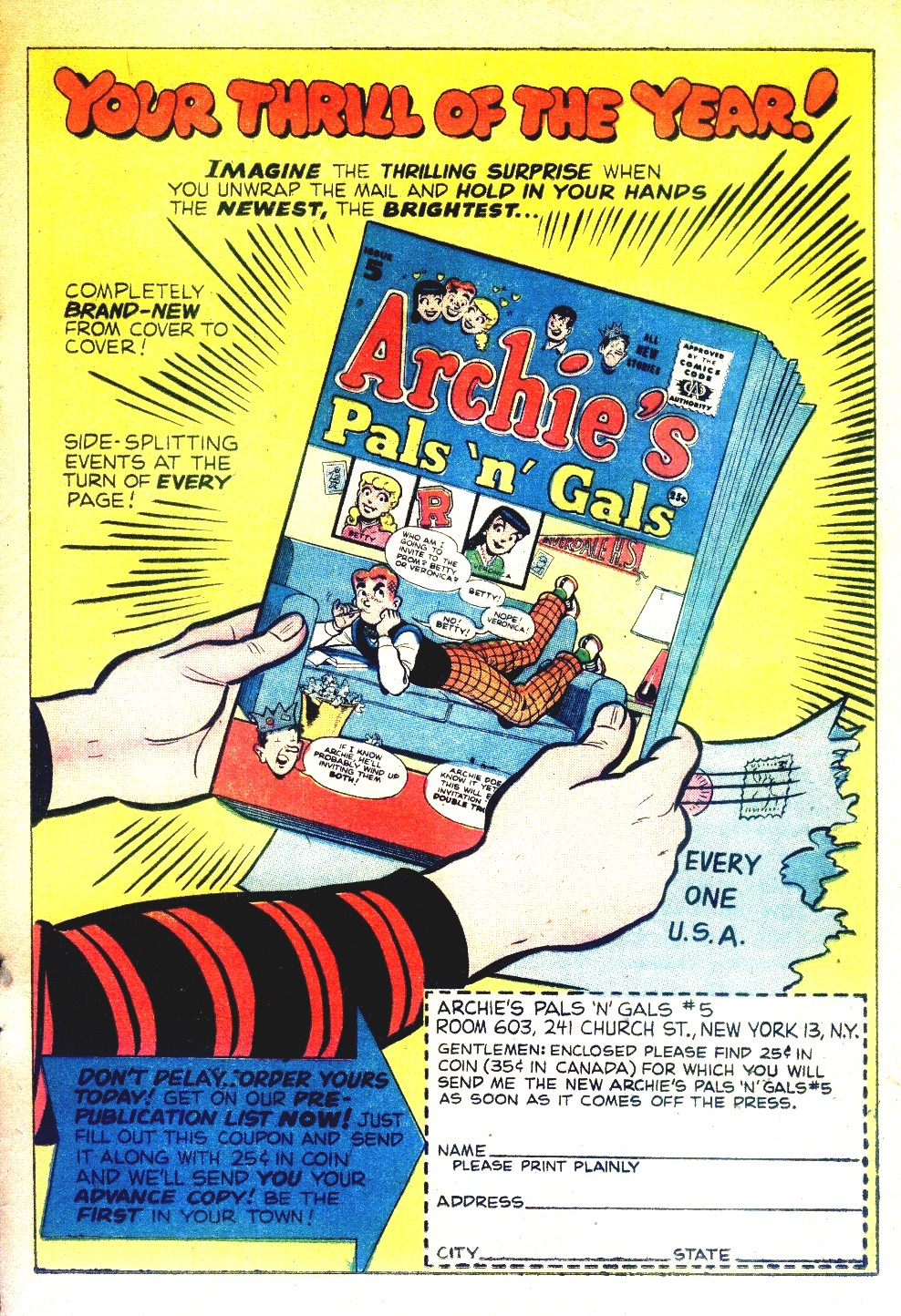 Read online Archie's Girls Betty and Veronica comic -  Issue #27 - 25