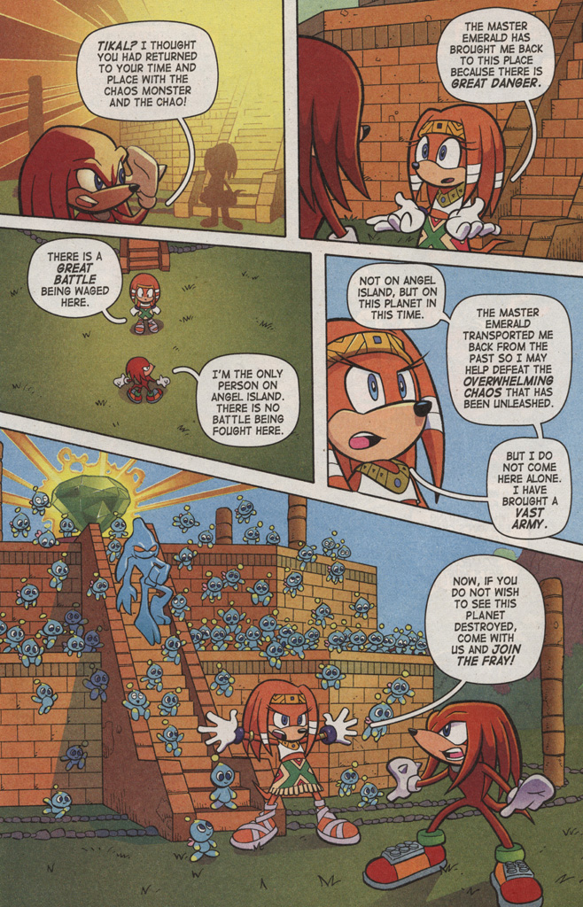Read online Sonic X comic -  Issue #6 - 5