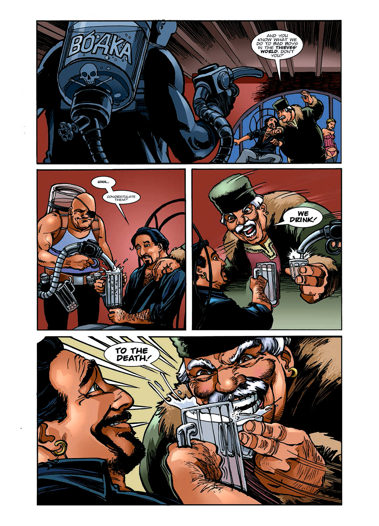 Read online Nikolai Dante comic -  Issue # TPB 6 - 43