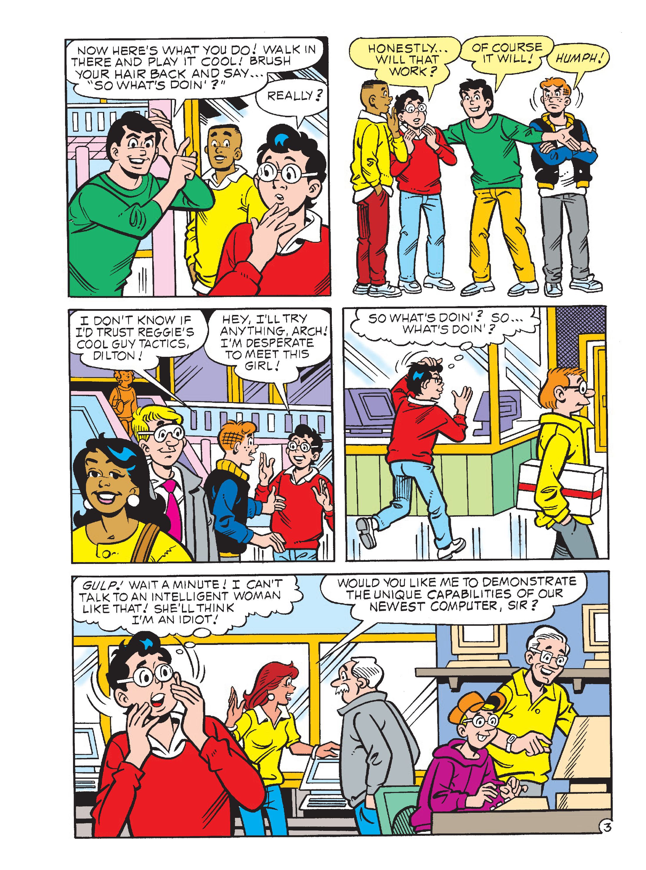 Read online Archie's Funhouse Double Digest comic -  Issue #23 - 63
