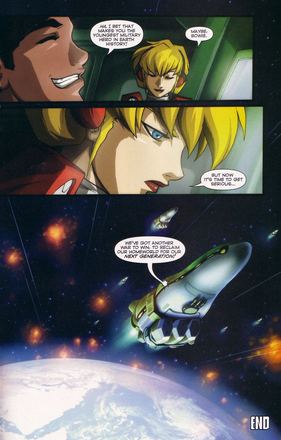 Read online Robotech: Love and War comic -  Issue #6 - 18