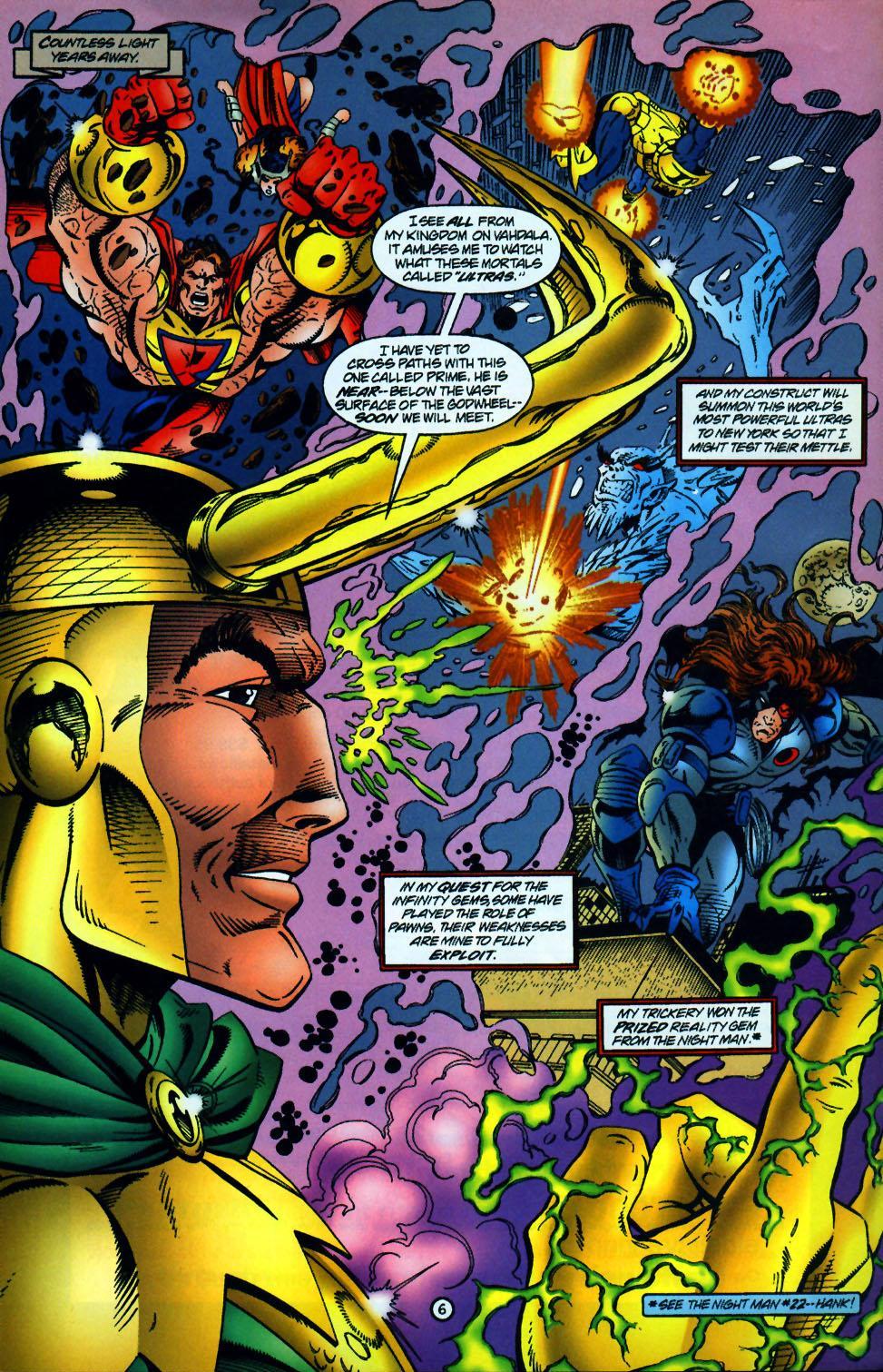 Read online UltraForce (1994) comic -  Issue #10 - 7