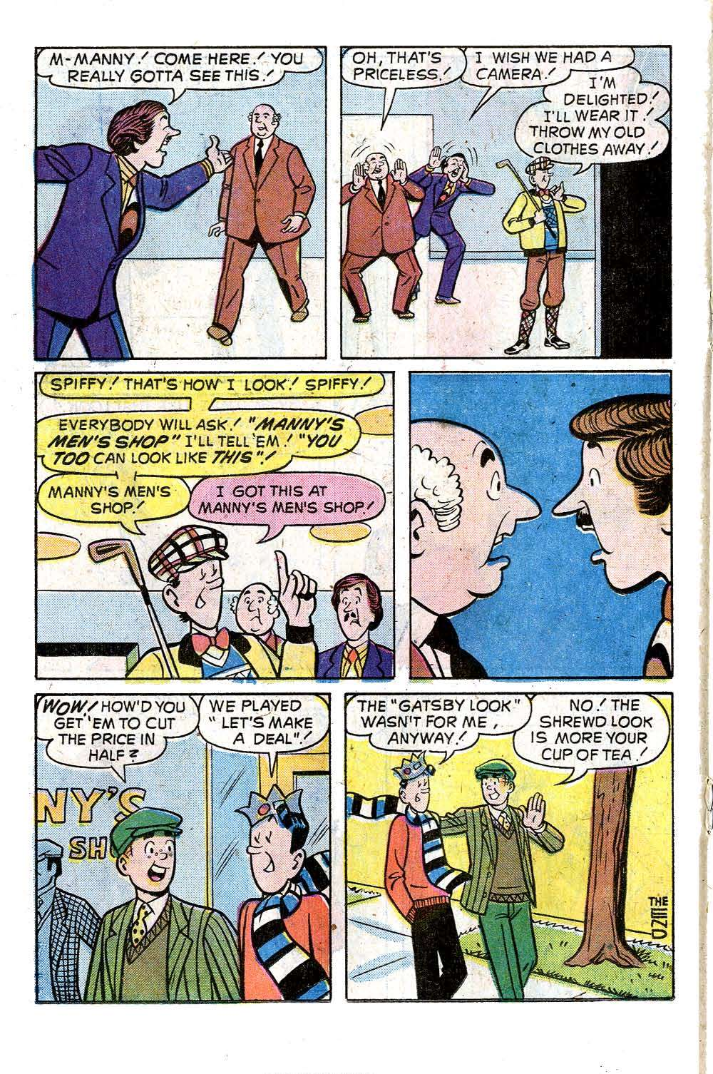 Read online Archie (1960) comic -  Issue #242 - 18