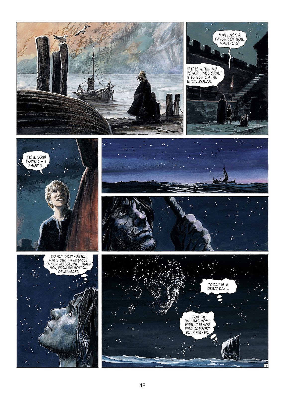 Read online Thorgal comic -  Issue #23 - 50