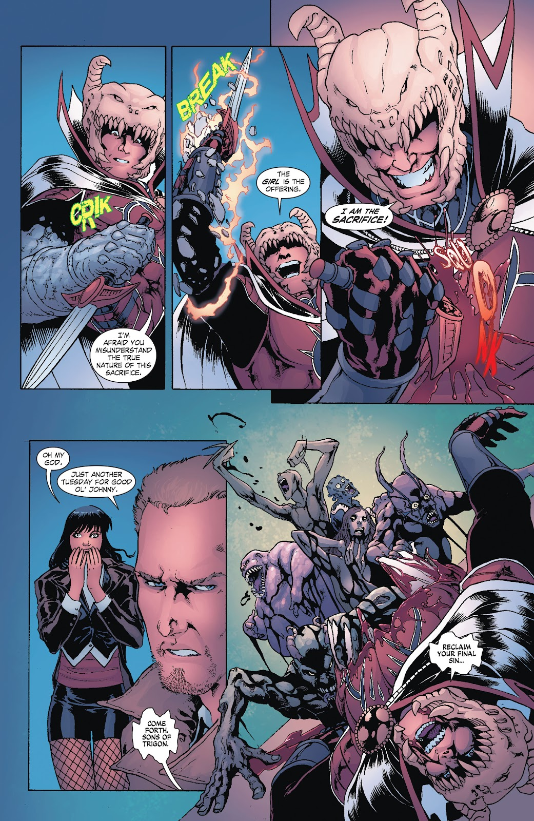 Read online Smallville Season 11 [II] comic -  Issue # TPB 8 - 35