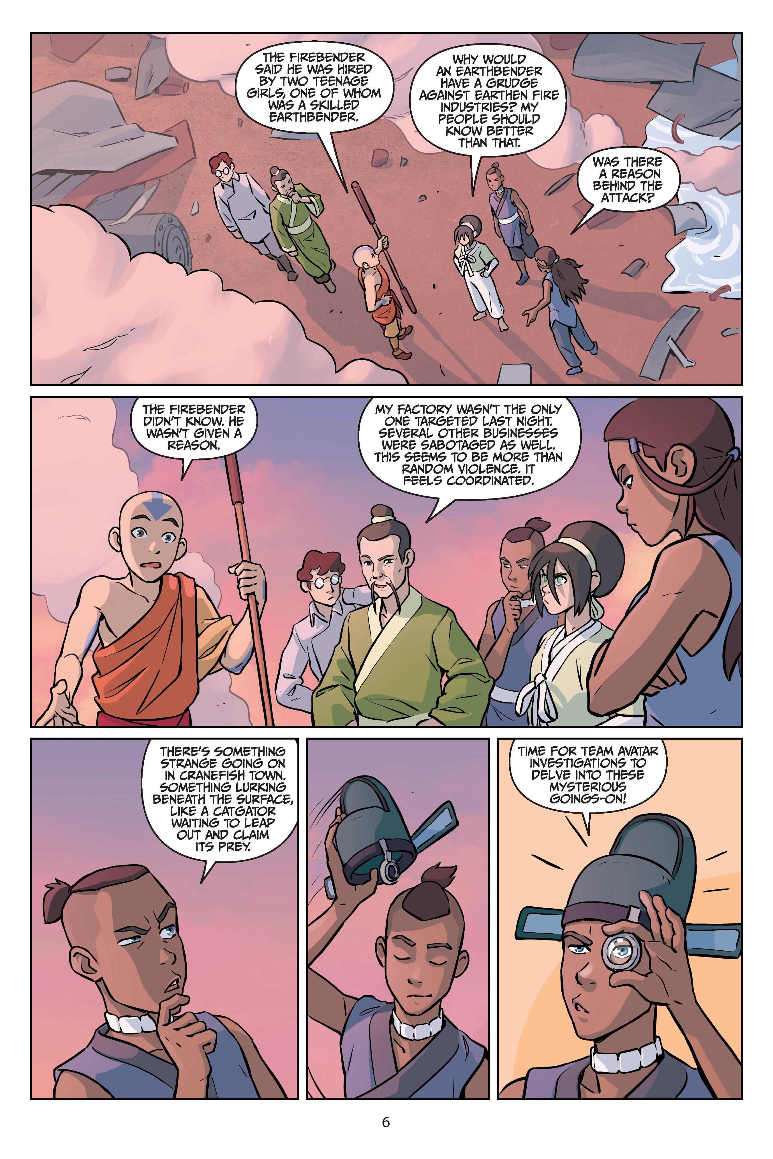 Nickelodeon Avatar: The Last Airbender - Imbalance TPB_2 Page 6