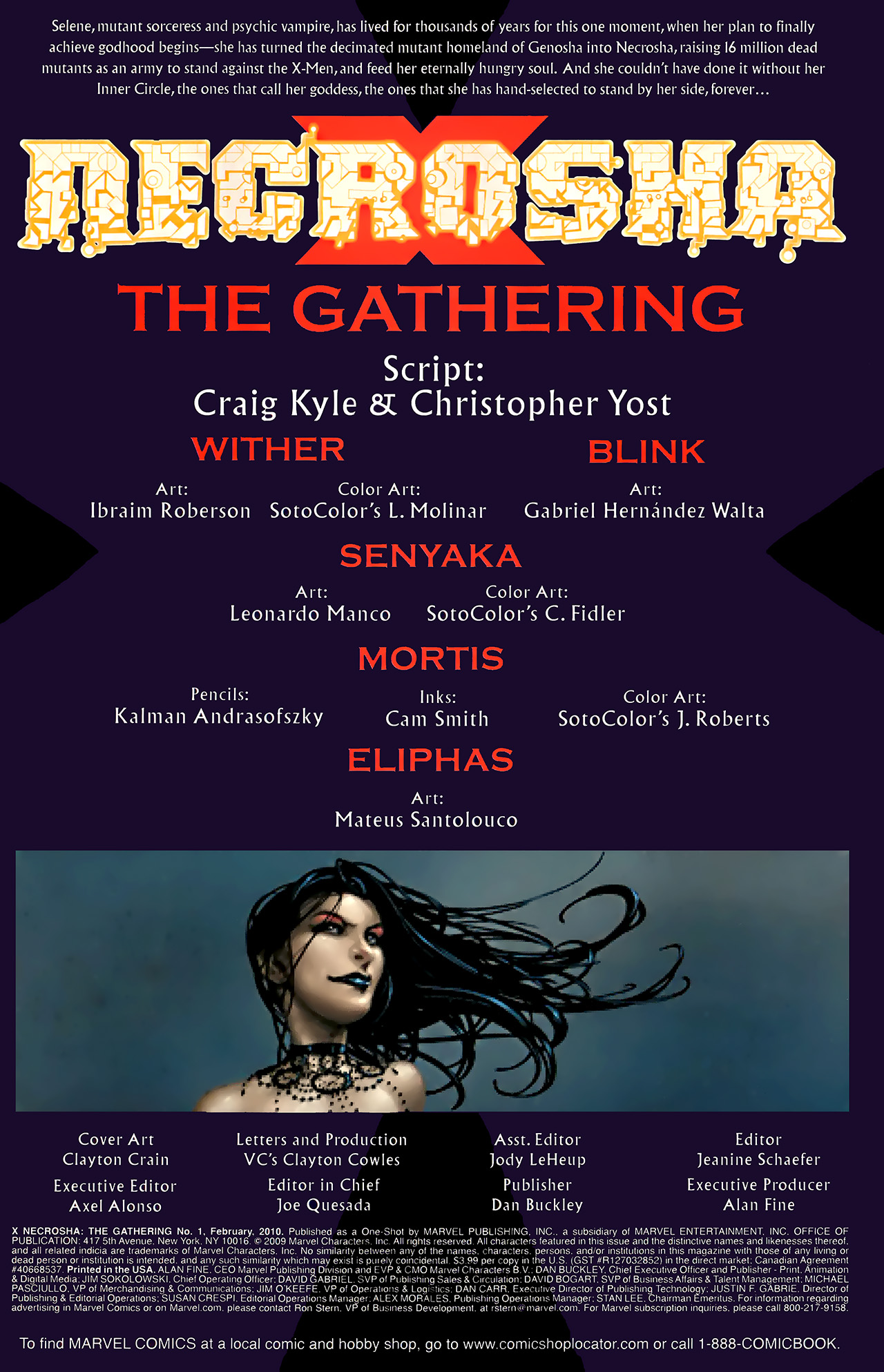 Read online X Necrosha: The Gathering comic -  Issue # Full - 2