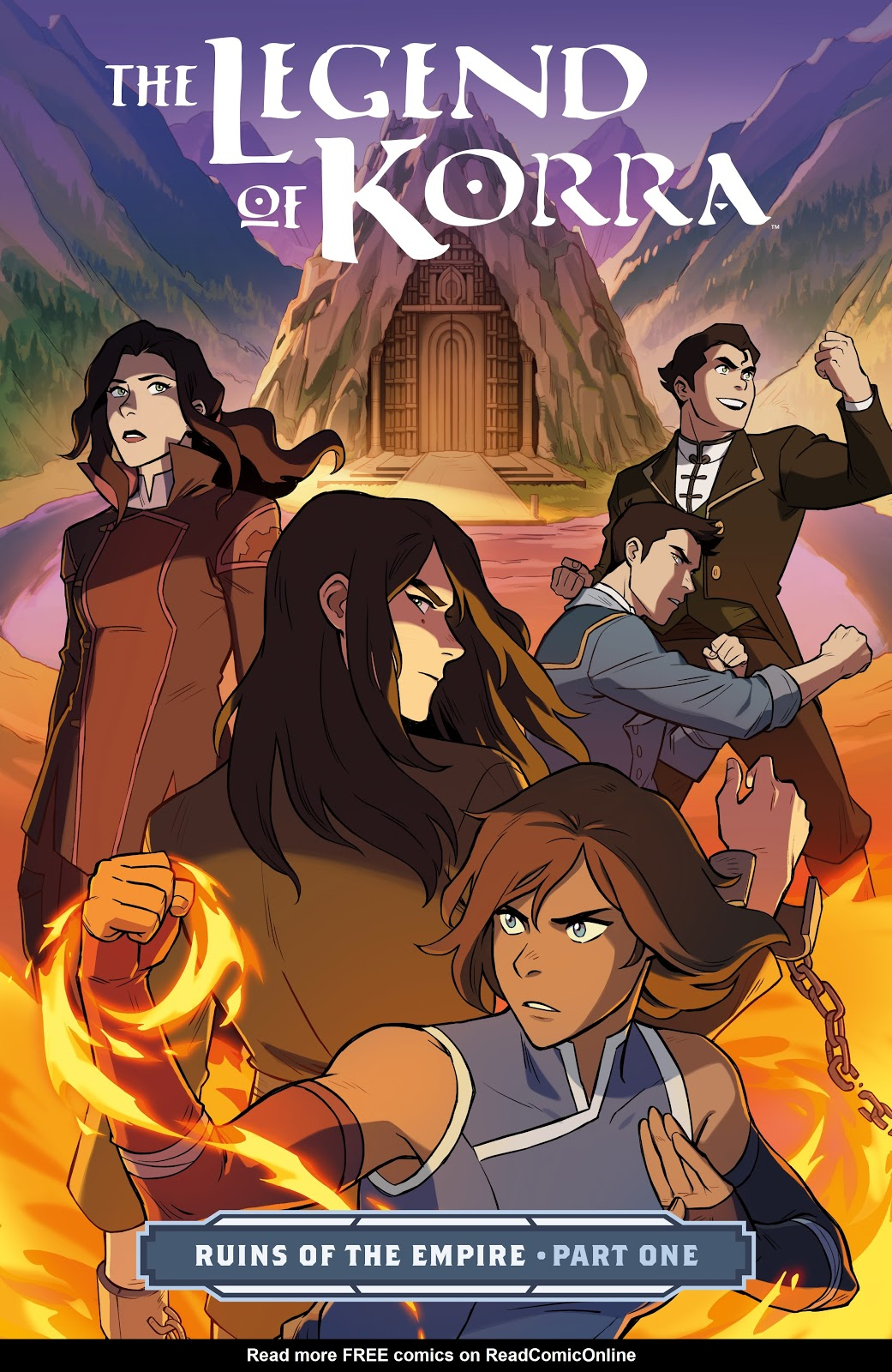 Nickelodeon The Legend of Korra: Ruins of the Empire issue TPB 1 - Page 1