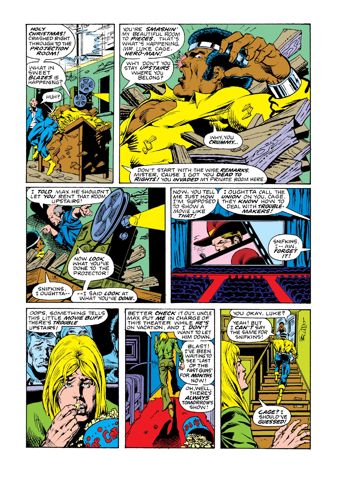 Read online Marvel Masterworks: Luke Cage, Power Man comic -  Issue # TPB 3 (Part 2) - 20
