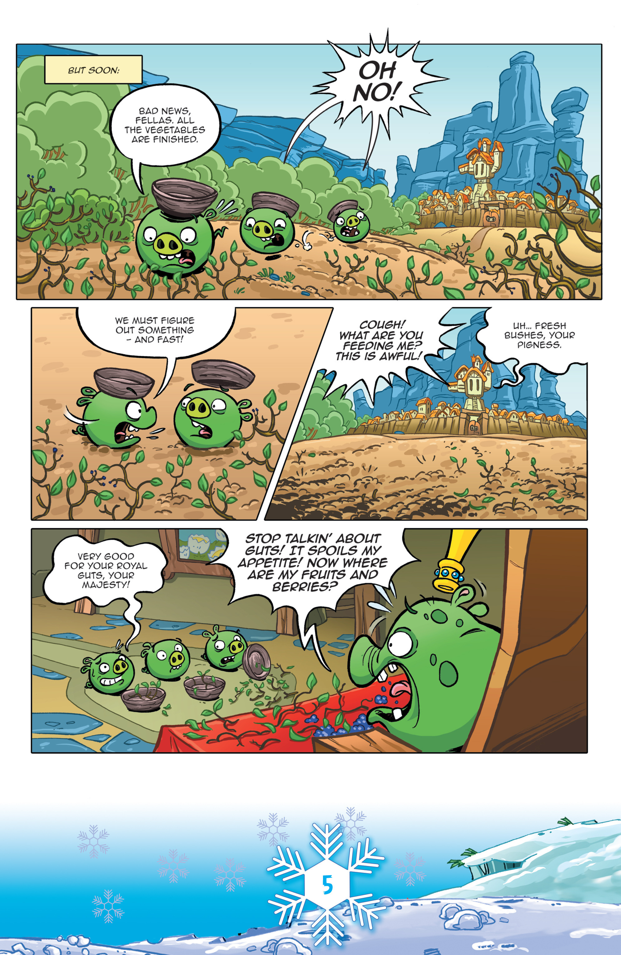Read online Angry Birds Comics (2016) comic -  Issue #12 - 7