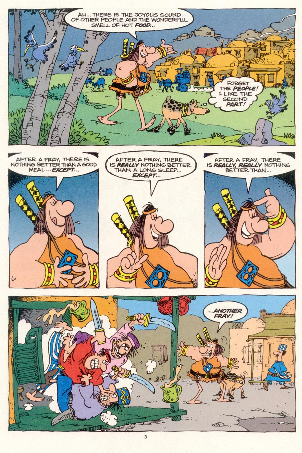 Read online Sergio Aragonés Groo the Wanderer comic -  Issue #120 - 5