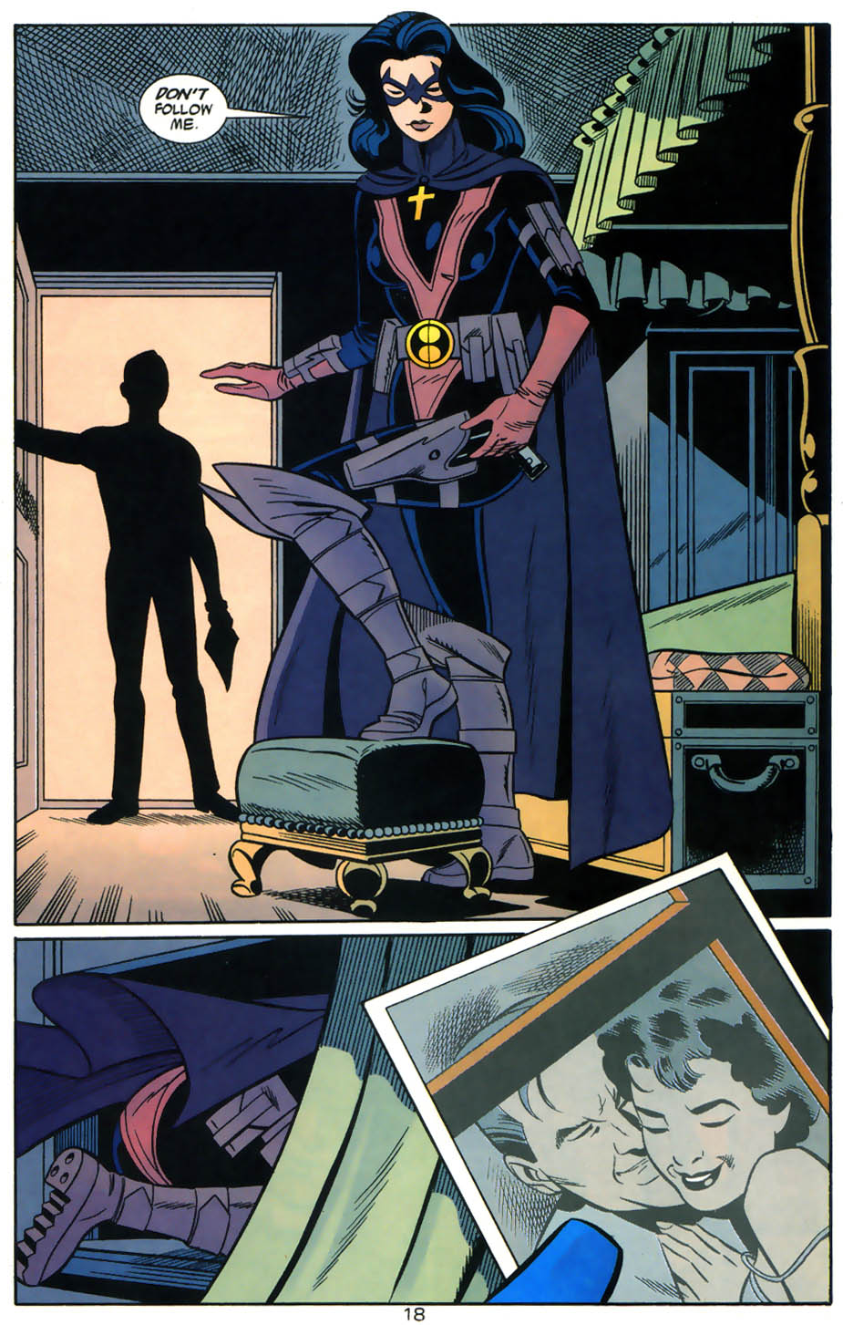 Read online Batman/Huntress: Cry for Blood comic -  Issue #5 - 18