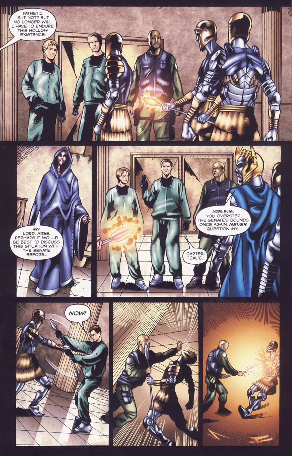 Read online Stargate SG-1: Fall of Rome comic -  Issue #2 - 15