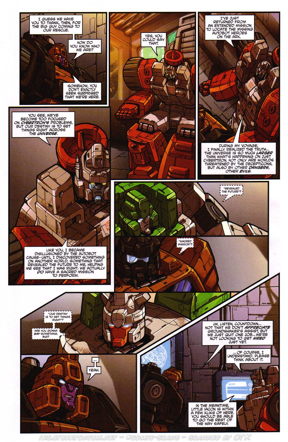 Read online Transformers: Micromasters comic -  Issue #2 - 12