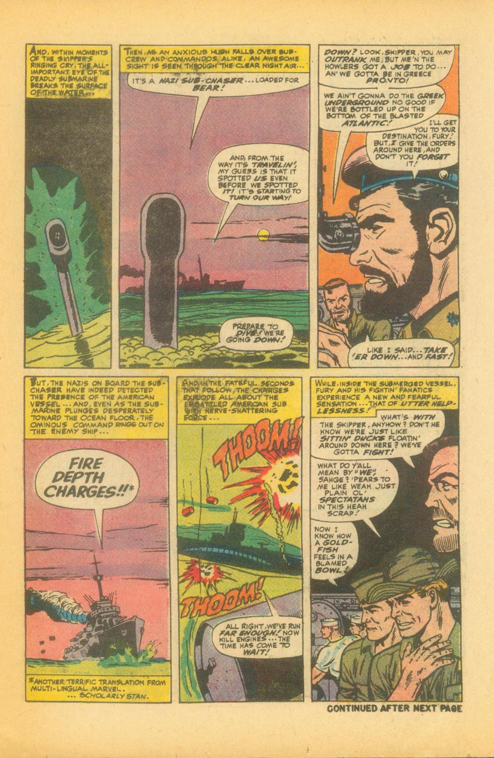 Read online Sgt. Fury comic -  Issue #99 - 11