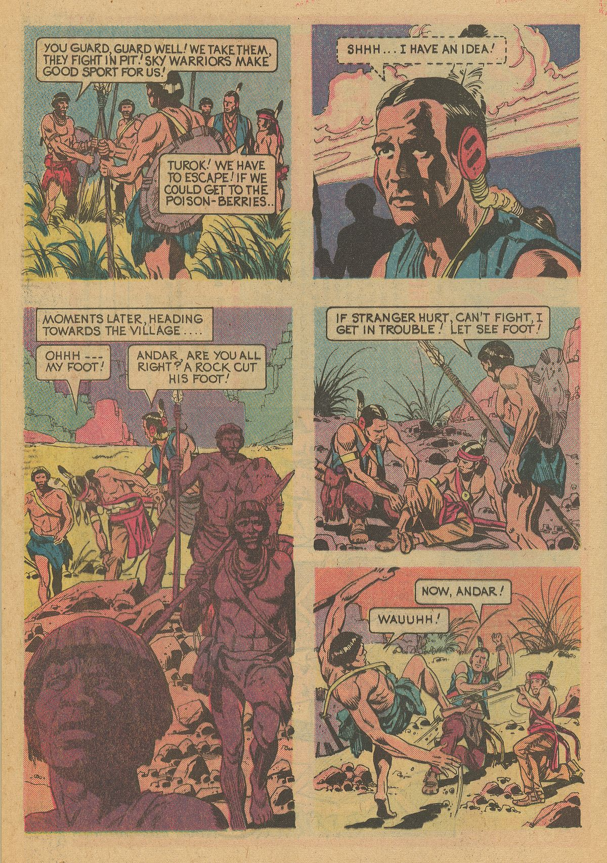 Read online Turok, Son of Stone comic -  Issue #125 - 24