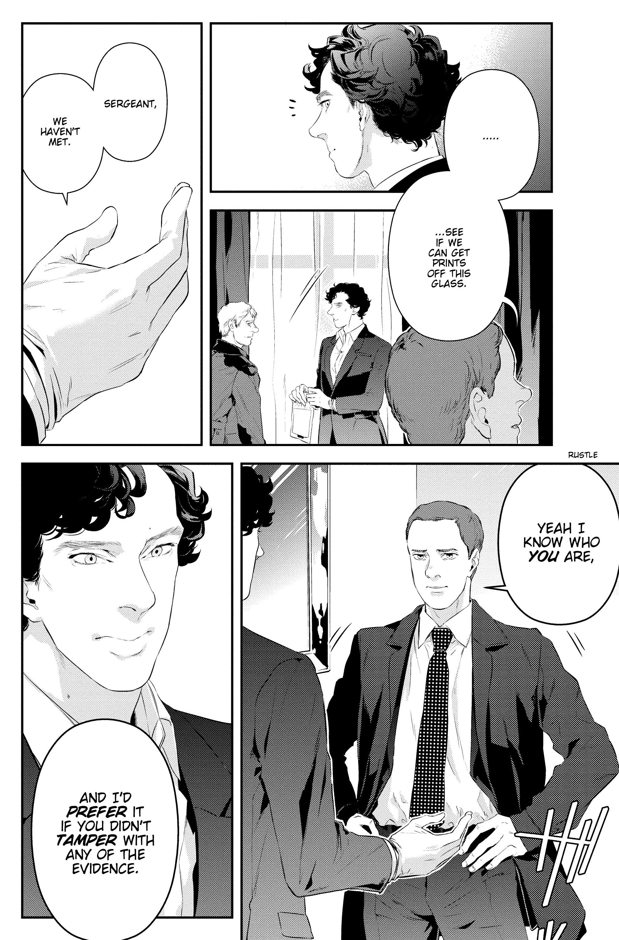Read online Sherlock: The Blind Banker comic -  Issue #2 - 11
