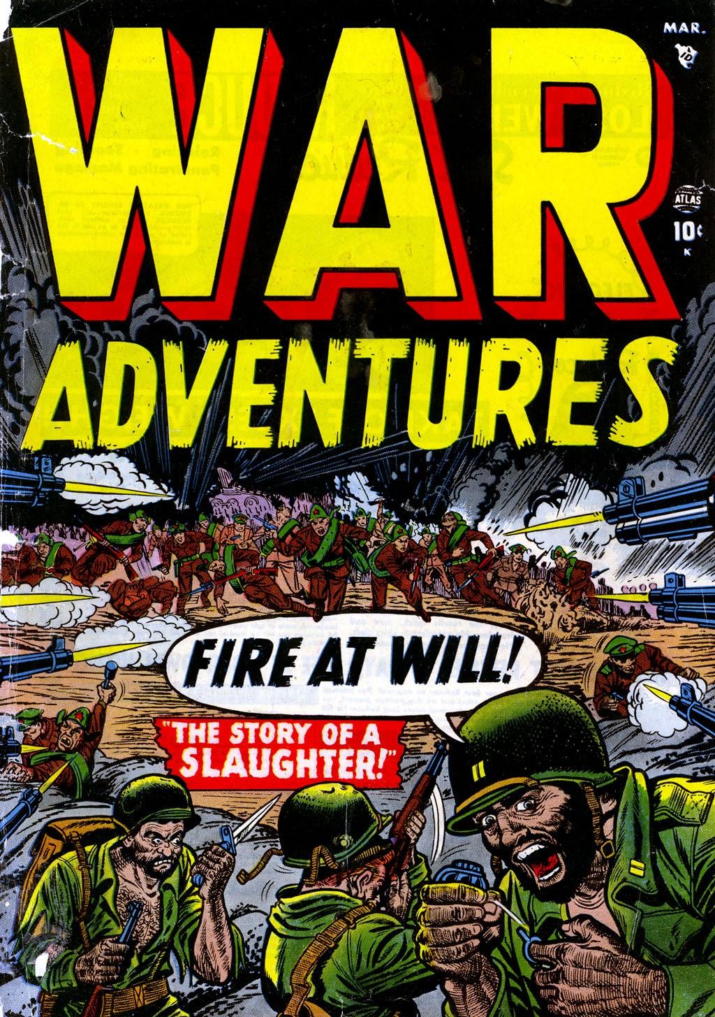War Adventures issue 2 - Page 1