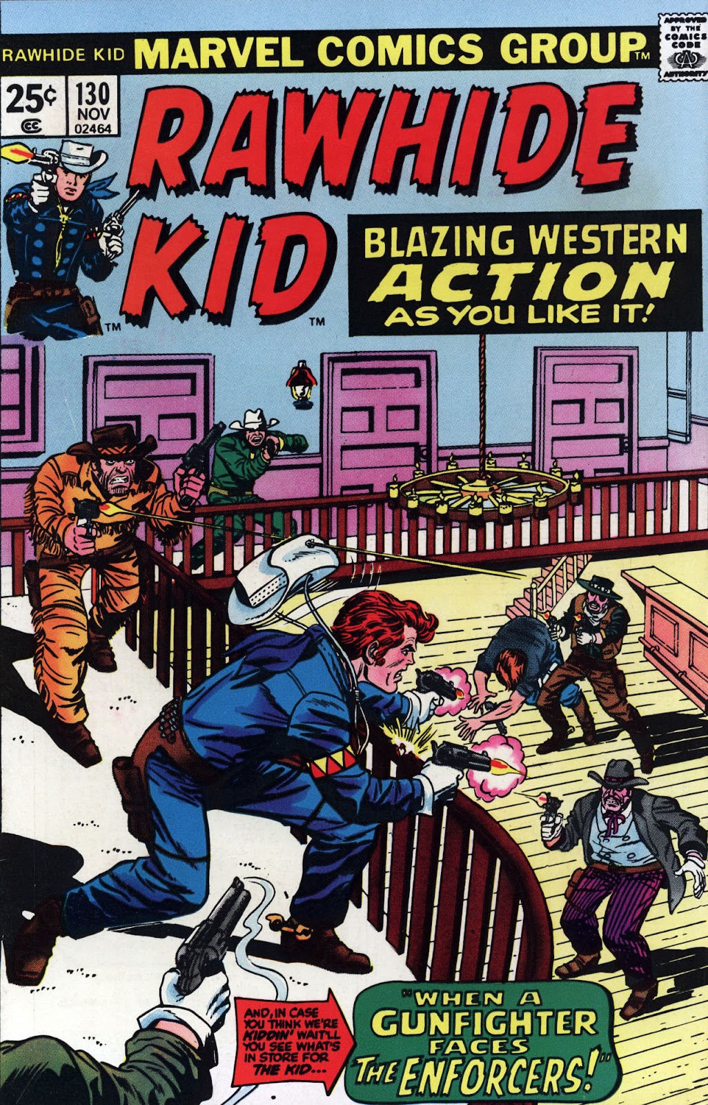 The Rawhide Kid (1955) issue 130 - Page 1