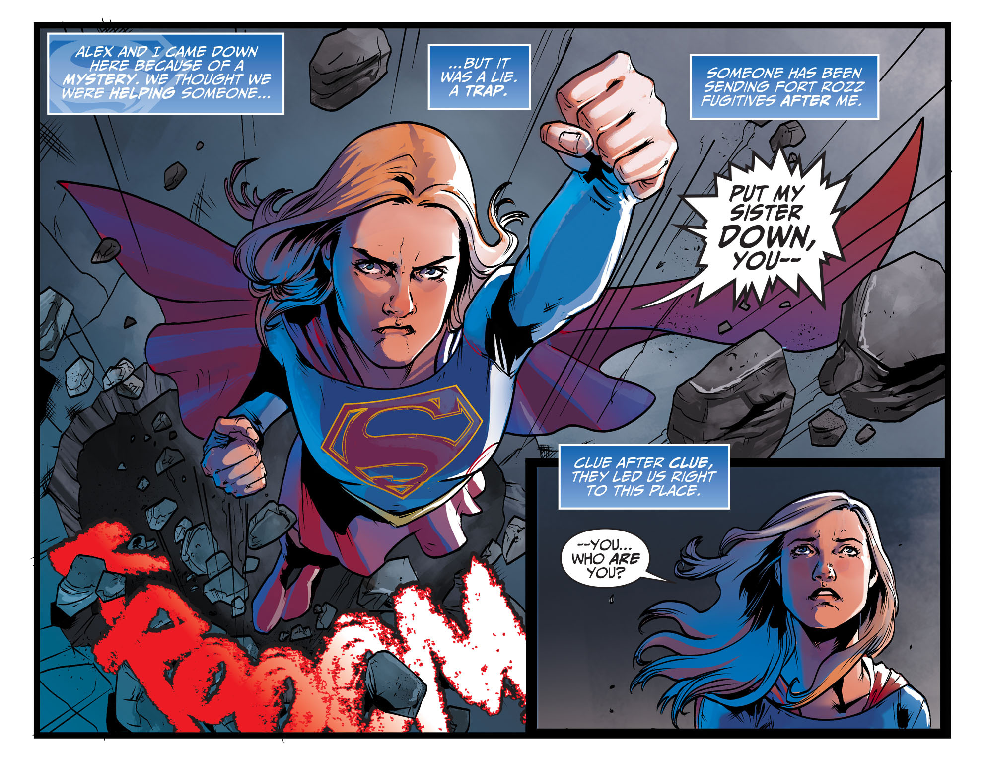 Read online Adventures of Supergirl comic -  Issue #9 - 8