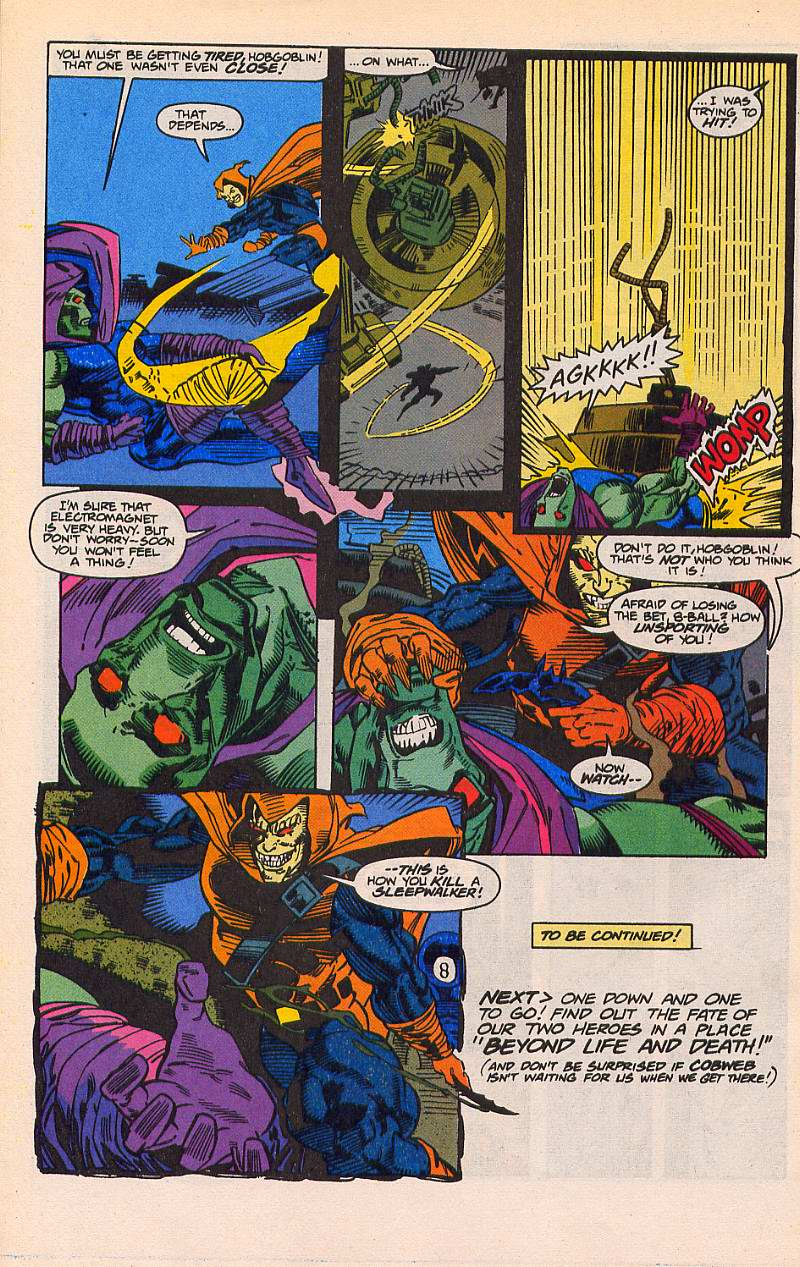Read online Sleepwalker comic -  Issue #21 - 23