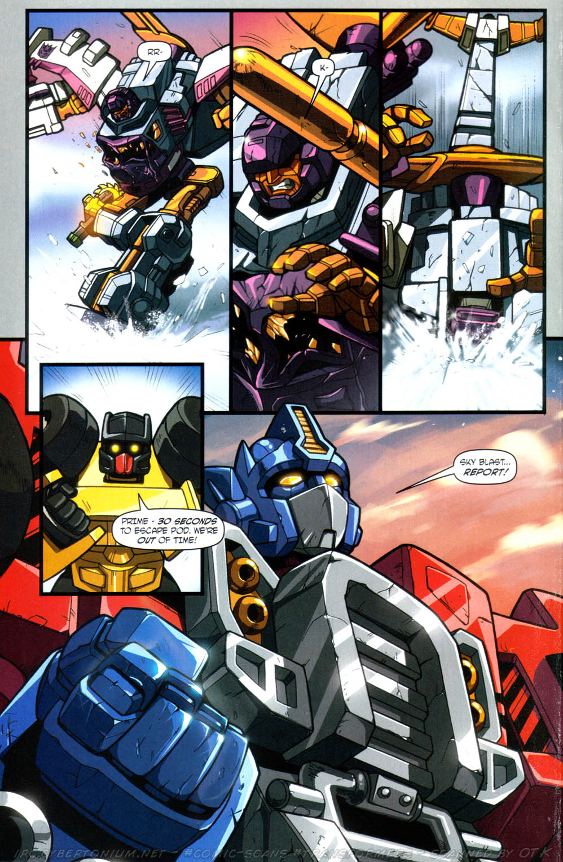 Read online Transformers Armada comic -  Issue #13 - 20