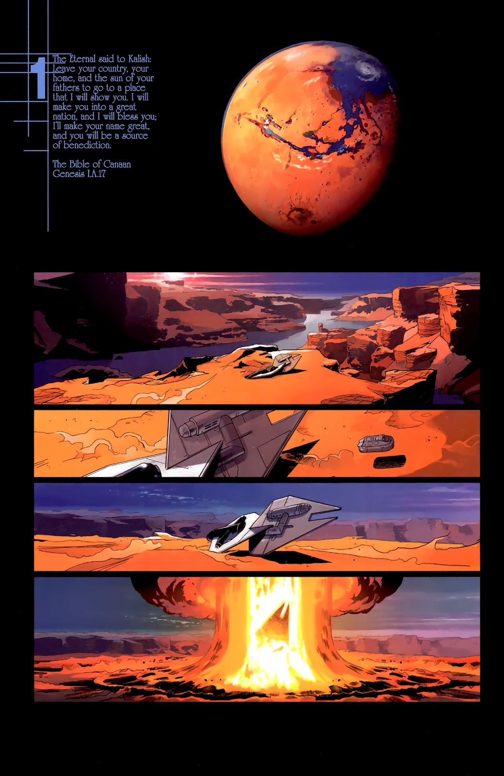 Read online Universal War One: Revelations comic -  Issue #3 - 8