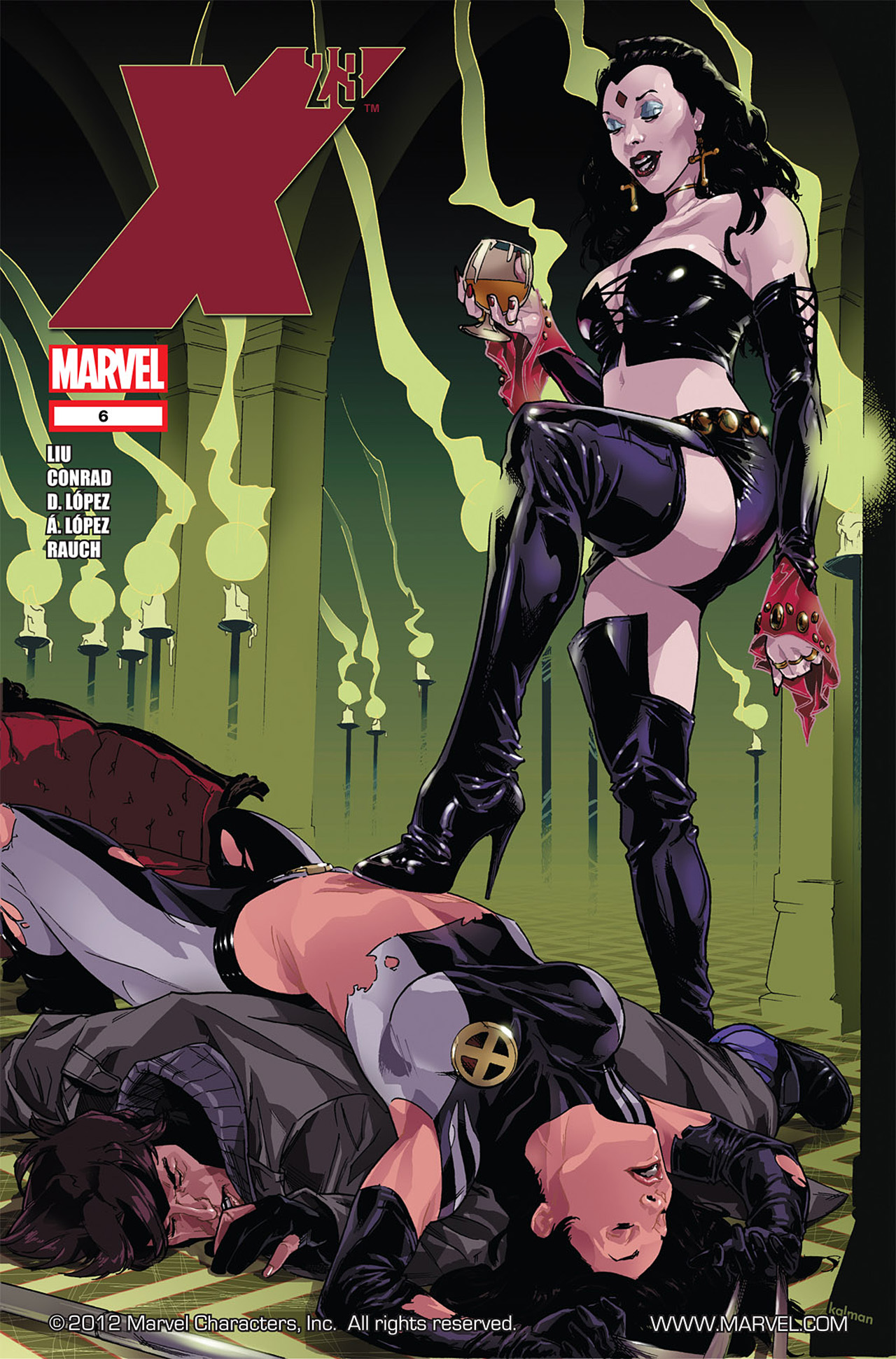 Read online X-23 (2010) comic -  Issue #6 - 1