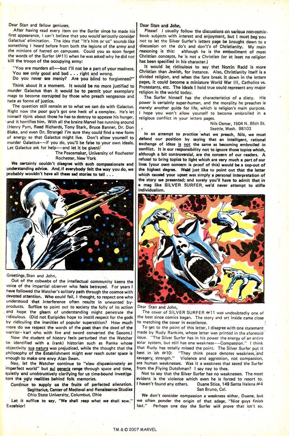 Read online Silver Surfer (1968) comic -  Issue #15 - 33