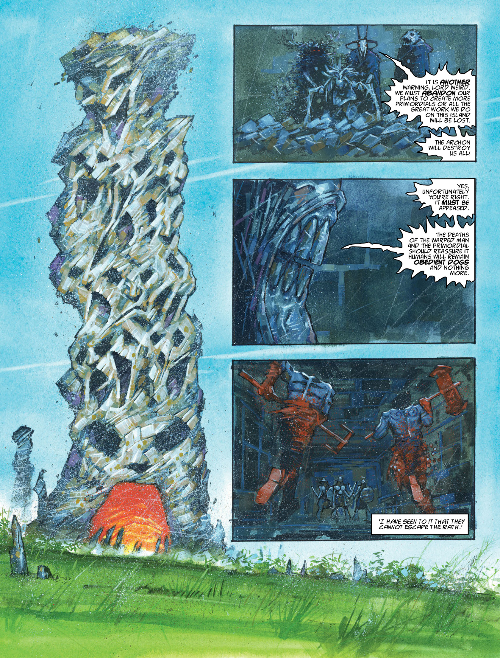 Read online 2000 AD comic -  Issue #1982 - 13