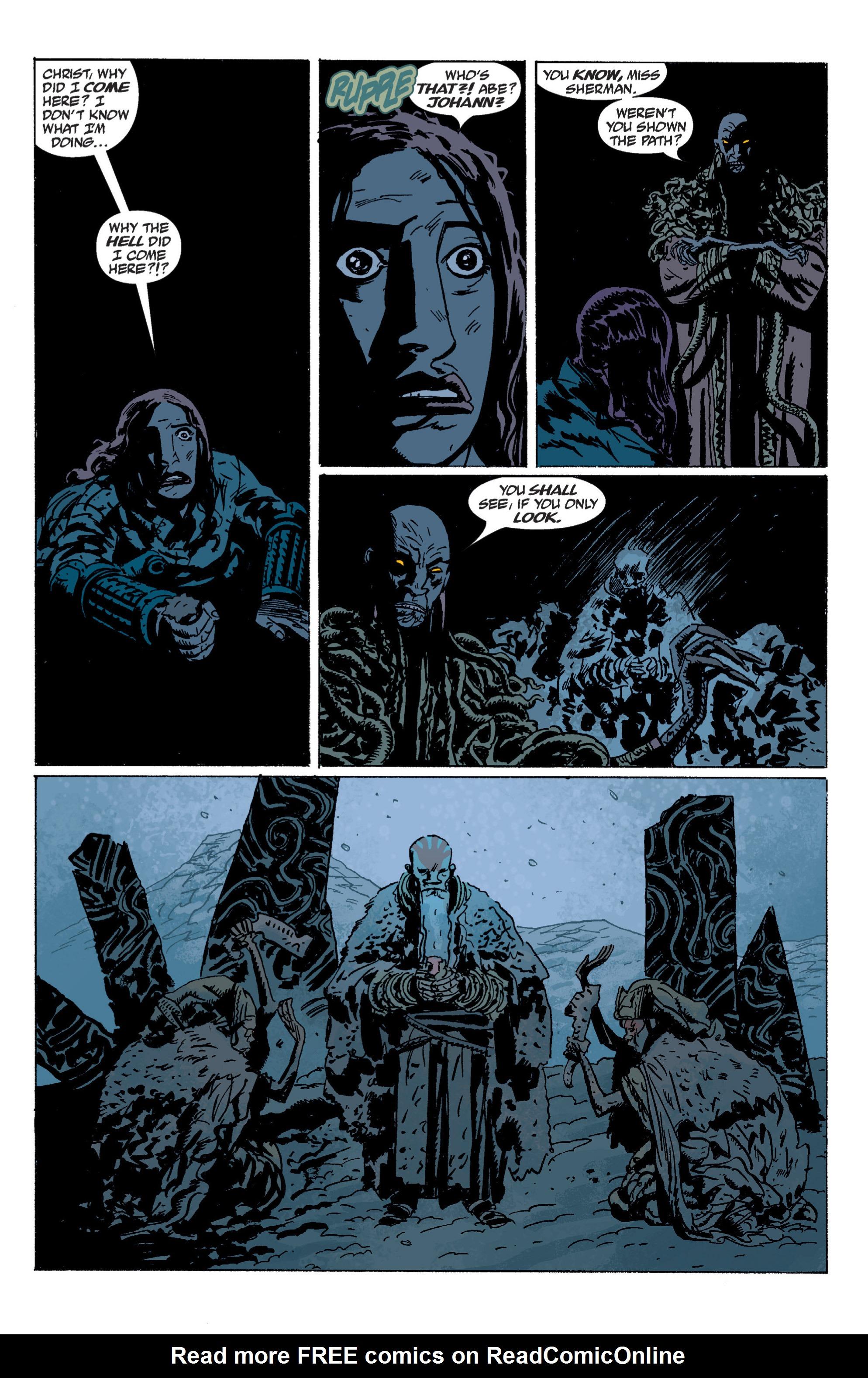 Read online B.P.R.D. (2003) comic -  Issue # TPB 5 - 142