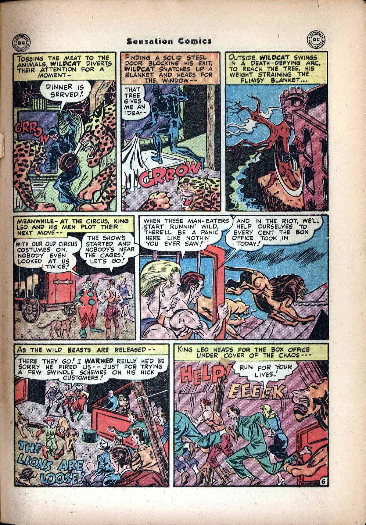 Read online Sensation (Mystery) Comics comic -  Issue #72 - 47