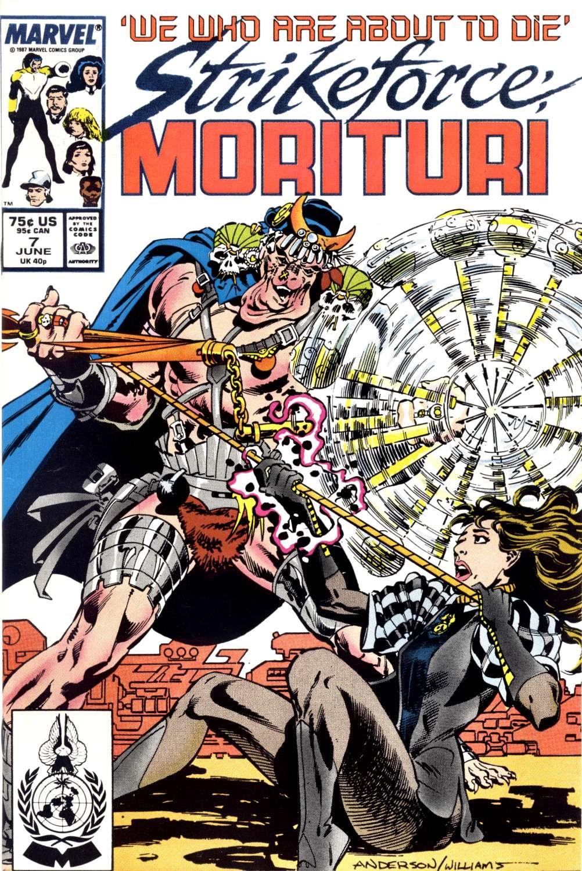Strikeforce: Morituri 7 Page 1