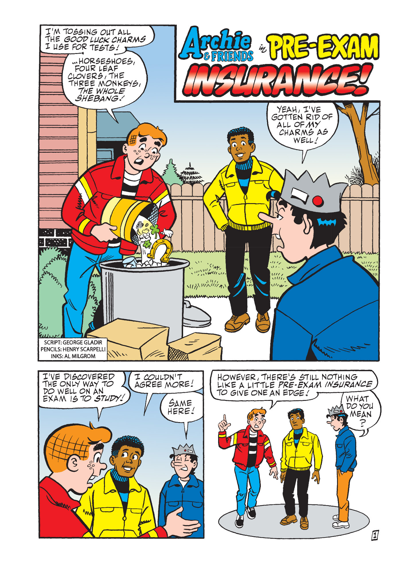 Read online Archie's Funhouse Double Digest comic -  Issue #9 - 12