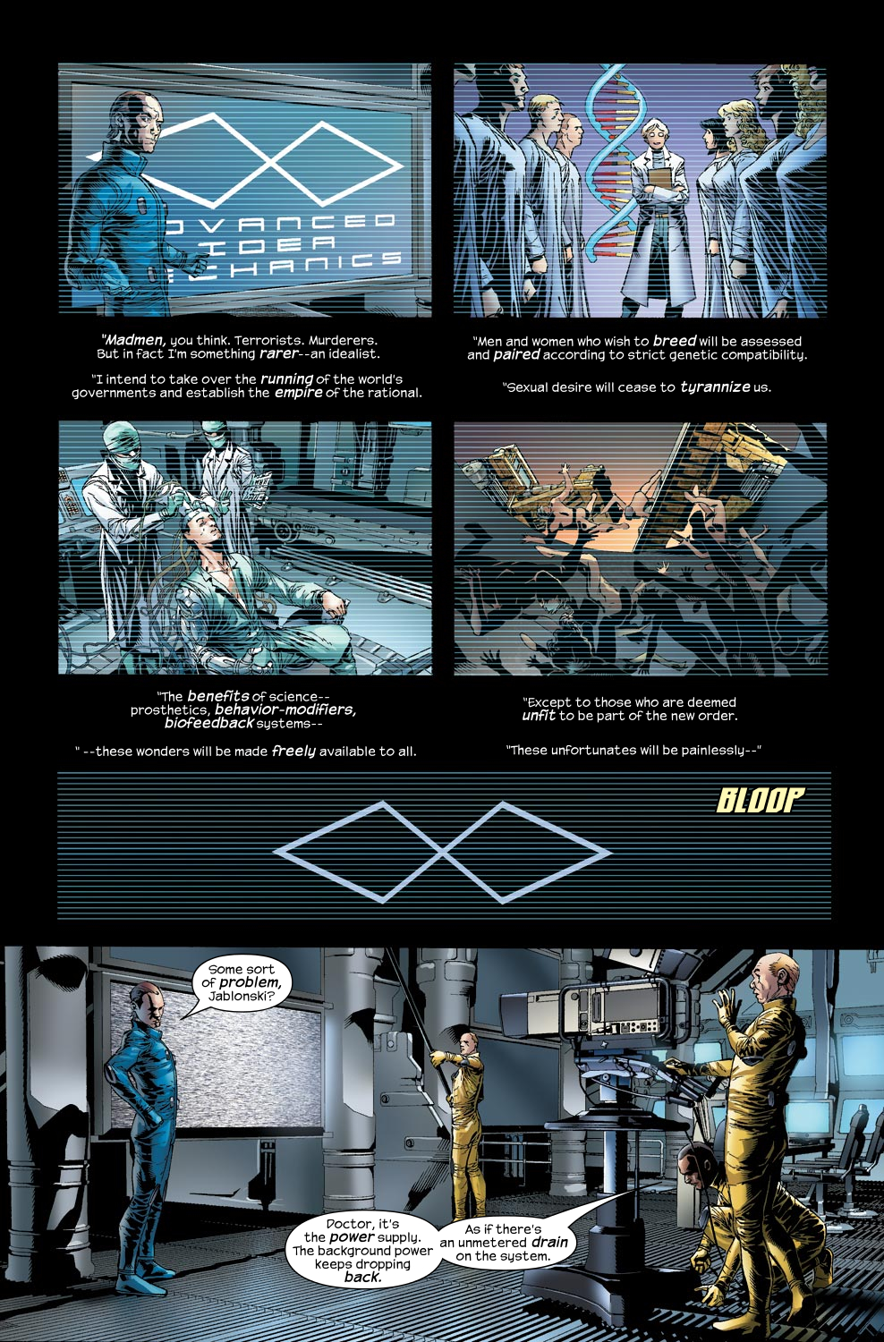 Read online Ultimate Vision comic -  Issue #2 - 9